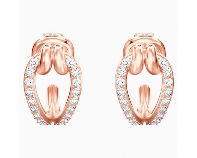 SWAROVSKI επιχρυσωμένα σκουλαρίκια LIFELONG HOOP PIERCED EARRINGS 5392920