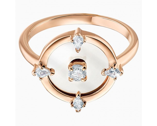 Swarovski 5515035 NORTH MOTIF RING, WHITE, ROSE-GOLD Νο58