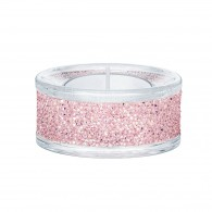 Swarovski 5474276 SHIMMER TEA LIGHT HOLDERS, PINK