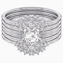 Swarovski 5513980 PENÉLOPE CRUZ MOONSUN RING SET, WHITE,Νο58