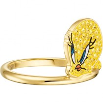 Swarovski LOONEY 5488600 TUNES TWEETY MOTIF RING