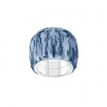SWAROVSKI 5432195 NIRVANA RING, BLUE, STAINLESS STEEL No55