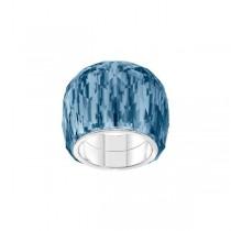 SWAROVSKI 5474372 NIRVANA RING, BLUE, STAINLESS STEEL Νο58 Authentic New