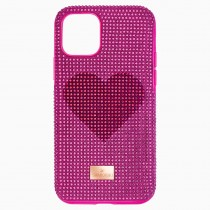 Swarovski CRYSTALGRAM 5540723 HEART SMARTPHONE CASE WITH BUMPER, IPHONE® 11 PRO