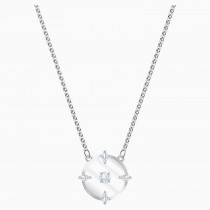 Swarovski 5497232 NORTH NECKLACE, WHITE, RHODIUM PLATED