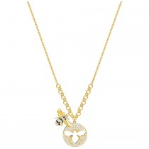 Swarovski 5365641 LISABEL NECKLACE, GOLD PLATING