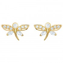Swarovski 5429352 MAGNETIC DRAGONFLY STUD PIERCED EARRINGS