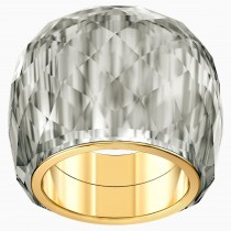 SWAROVSKI 5474357 Νο 58 NIRVANA RING, GREY, GOLD-TONE PVD