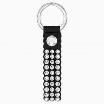 SWAROVSKI 5534018 POWER COLLECTION KEY RING, BLACK,