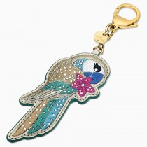 Swarovski 5520615 TROPICAL PARROT BAG CHARM, DARK MULTI-COLORED,