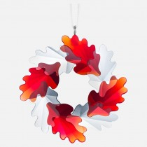 Swarovski 5464866 WREATH ORNAMENT, LEAVES