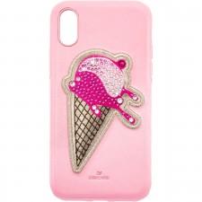 Swarovski 5481544 NO REGRETS ICE CREAM SMARTPHONE CASE , IPHONE® XS MAX, PINK