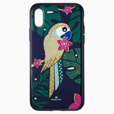Swarovski 5533973 TROPICAL PARROT SMARTPHONE CASE WITH BUMPER, IPHONE® XS MAX