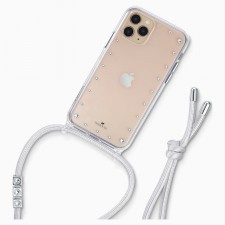 SWAROVSKI 5557777 SMARTPHONE NECKLACE CASE WITH BUMPER, IPHONE® 11 PRO