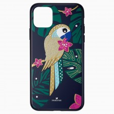 Swarovski 5534015 TROPICAL PARROT SMARTPHONE CASE WITH BUMPER, IPHONE® 11 PRO