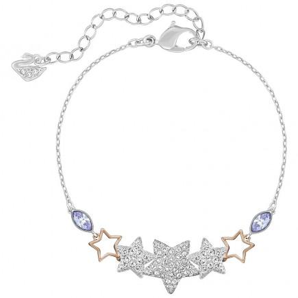 Swarovski 5179189 Duo Star Bracelet.